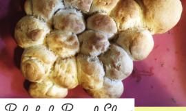 Zuckerfrei Backen mit Kindern: Quarkbrötchen-Schaf